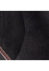 Czarne kozaki Big-Star na obcasie, z cholewką