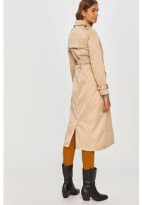 Szary płaszcz Answear Lab bez kaptura, wakacyjny, na co dzień #7
