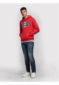 Jack & Jones - Jack&Jones Bluza Ecorp 12152840 Czerwony Regular Fit. Kolor: czerwony #1