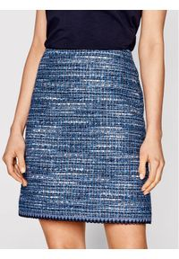 Niebieska spódnica mini Luisa Spagnoli