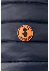 Niebieska kamizelka Save The Duck bez kaptura, casualowa, na co dzień