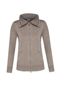 Brązowy sweter Deha długi