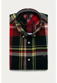 Wielokolorowa koszula TOMMY HILFIGER z długim rękawem, button down