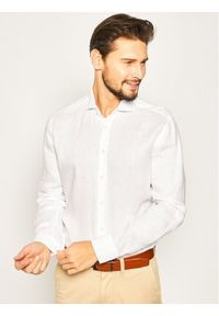 Baldessarini Koszula Henry 41232/40015/1010 Biały Regular Fit. Kolor: biały