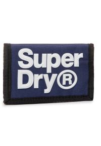 Niebieski portfel Superdry