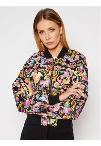 Bomberka Versace Jeans Couture w kolorowe wzory