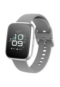 Srebrny zegarek FOREVER smartwatch