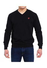 Sweter Edward Orlovski elegancki, w kolorowe wzory