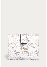 Biały portfel Guess