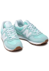 Zielone sneakersy New Balance 574