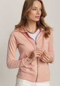 Renee - Jasnoróżowa Bluza Kaliphenia. Kolor: różowy