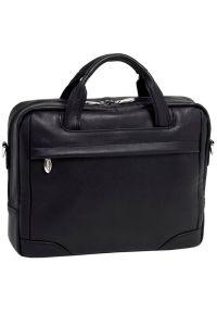 Czarna torba na laptopa MCKLEIN casualowa #7