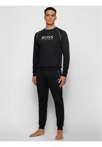 BOSS - Boss Bluza Tracksuit 50442816 Czarny Regular Fit. Kolor: czarny