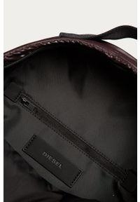 Brązowy plecak Diesel z nadrukiem #5