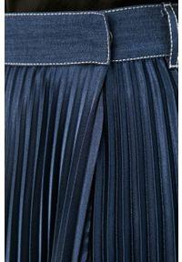 Niebieska spódnica Beatrice B gładkie, casualowa, na co dzień