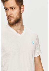 Biały t-shirt Polo Ralph Lauren polo, na co dzień, casualowy