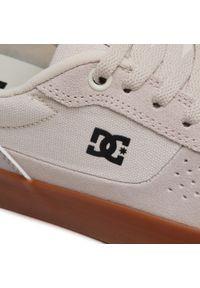 Beżowe buty sportowe DC na co dzień, z cholewką