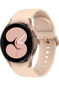SAMSUNG - Smartwatch Samsung Galaxy Watch 4 Aluminum 40mm LTE Różowy (SM-R865FZDAEUE). Rodzaj zegarka: smartwatch. Kolor: różowy