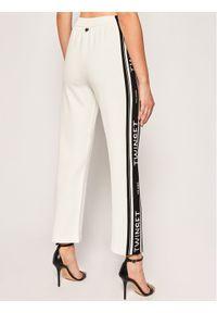Białe spodnie dresowe TwinSet