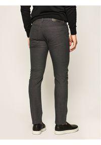 BOSS - Boss Spodnie materiałowe Delaware3-10-20 50425117 Szary Slim Fit. Kolor: szary. Materiał: materiał, bawełna, elastan