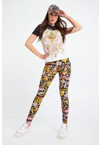 Versace Jeans Couture - T-SHIRT VERSACE JEANS COUTURE. Okazja: na co dzień. Materiał: materiał. Styl: casual #2