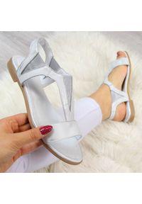 Srebrne sandały Juma klasyczne