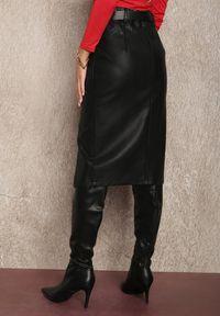 Renee - Czarna Spódnica Phelliore. Kolor: czarny. Styl: klasyczny, elegancki