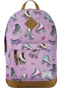 Incood Plecak Wrotki fioletowy. Kolor: fioletowy