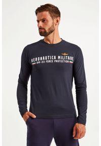 Aeronautica Militare - LONGSLEEVE AERONAUTICA MILITARE. Materiał: bawełna, guma. Długość rękawa: długi rękaw. Wzór: napisy, aplikacja #2