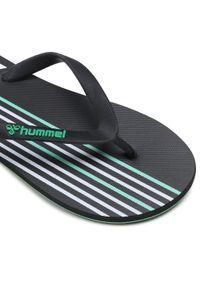 Czarne klapki na basen Hummel