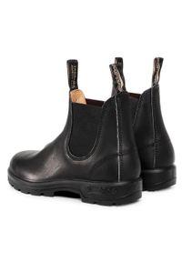 Czarne botki Blundstone na obcasie, na średnim obcasie #6