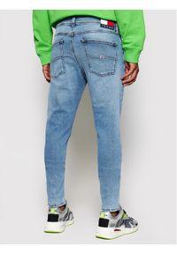 Tommy Jeans Jeansy Miles DM0DM10256 Niebieski Skinny Fit. Kolor: niebieski