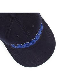 Lacoste Czapka z daszkiem RK2782 Granatowy. Kolor: niebieski