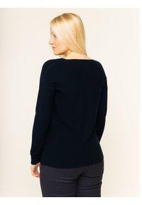 Niebieski sweter klasyczny Persona by Marina Rinaldi