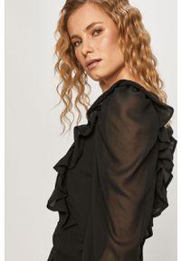 Czarna sukienka Pieces mini, dopasowana #6