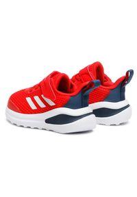 Adidas - adidas Buty FortaRun EL I FZ3273 Czerwony. Kolor: czerwony. Sport: bieganie