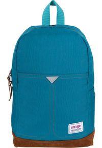 Strigo Plecak szkolny Everyday Basic niebieski (BE12). Kolor: niebieski
