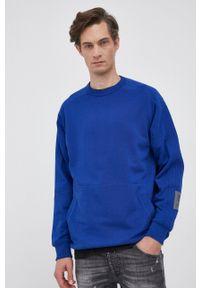 G-Star RAW - G-Star Raw - Bluza bawełniana. Okazja: na co dzień. Kolor: niebieski. Materiał: bawełna. Styl: casual