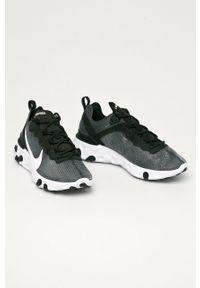 Szare buty sportowe Nike Sportswear z cholewką, z okrągłym noskiem