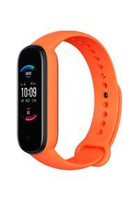Pomarańczowy zegarek AMAZFIT sportowy
