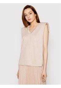 Różowa bluzka Nissa