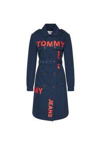 Niebieski trencz Tommy Jeans #5
