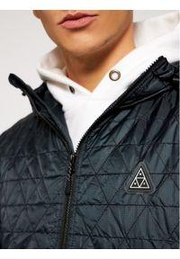 HUF Kurtka puchowa Polygon JK00244 Czarny Regular Fit. Kolor: czarny. Materiał: puch