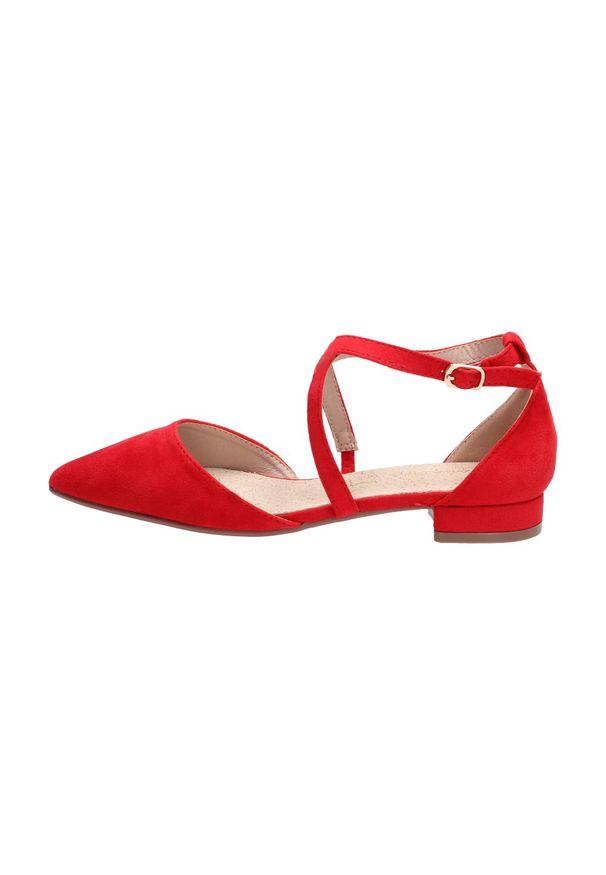Czerwone baleriny Sabatina klasyczne