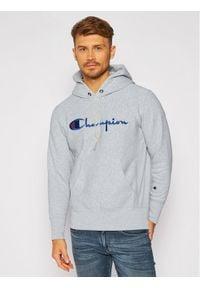 Champion Bluza Script Logo 215210 Szary Custom Fit. Kolor: szary