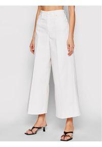 Białe jeansy bootcut Victoria Victoria Beckham
