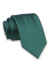 Zielony krawat Alties melanż, elegancki