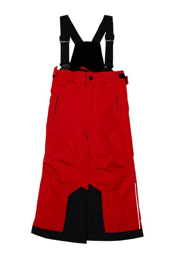 Reima Spodnie narciarskie Wingon 532185 Czerwony Regular Fit. Kolor: czerwony. Sport: narciarstwo