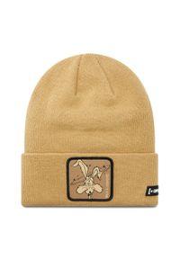 Brązowa czapka zimowa CapsLab
