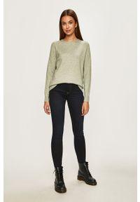 Zielony sweter only raglanowy rękaw